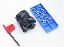 1pcs EMR5R 50mm-22mm-4T face end mill +10pcs RPMT1003 aluminium carbide insert  CNC milling
