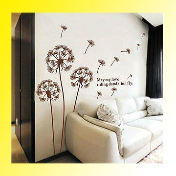 New Design Home Wall Sticker Removable Plants Pattern Decoration Wall Paster/Poster