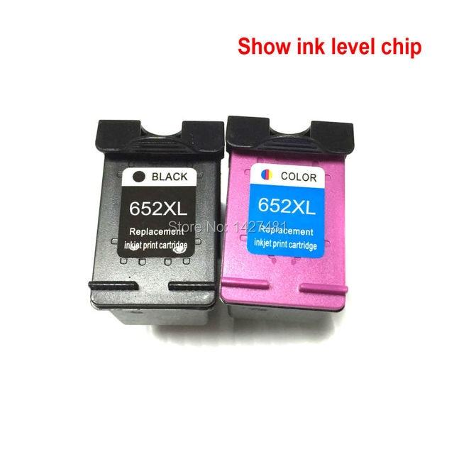 YOTAT remanufactured ink cartridge for HP652 HP 652XL For HP DeskJet 1115  2135 3635 3775 3785