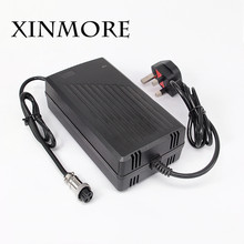 XINMORE 5PCS 12.6V 12A 11A 10A 9A Lithium Li-ion Battery Charger For 12V Lipo Bike Power Tool Scooter E-bike Battery Pack