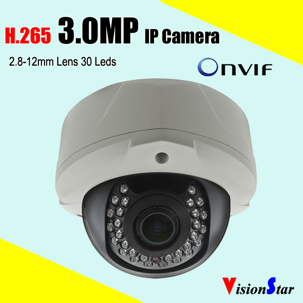 P2P cloud iphone android mobile view motion sensor 3.0MP H.265 dome IP camera vandalproof surveillance video camera mobile robot motion planning
