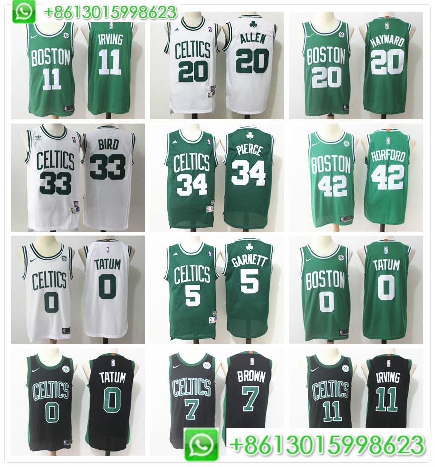 affa78b71 Buy boston celtics jersey and get free shipping on AliExpress.com