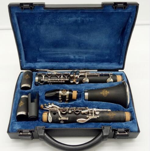 Buffet Crampon París estudiante sándalo ébano clarinete Bb E13 profesional Buffet clarinete boquilla accesorios caso duro de la Caja