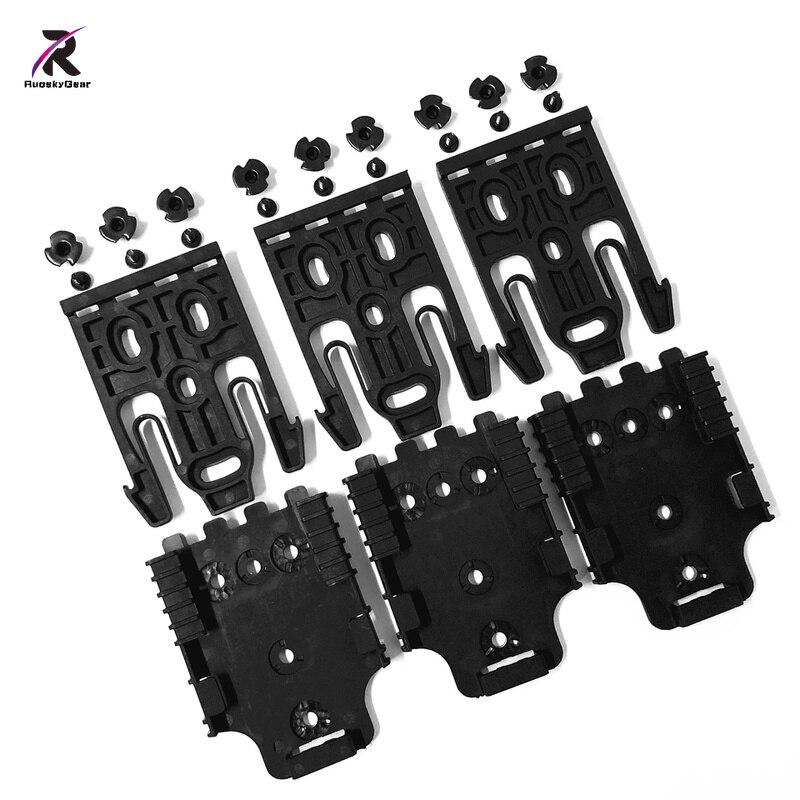 Melhor safarilândia qls sistema de bloqueio rápido kit com qls 19 & qls 22 polímero preto coldre acessórios para caso arma frete grátis