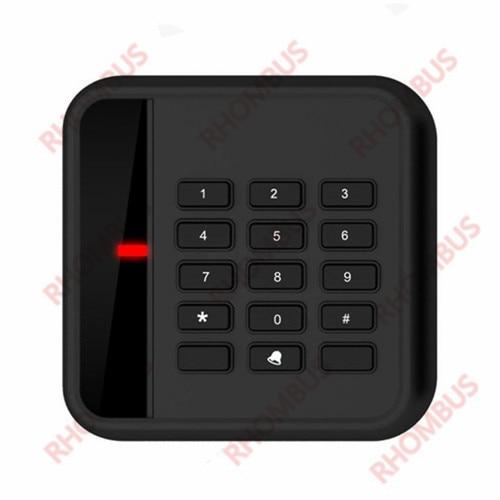 Weatherproof 13.56Mhz MF1 S50 keypad WG26 RFID Access Control Card READER