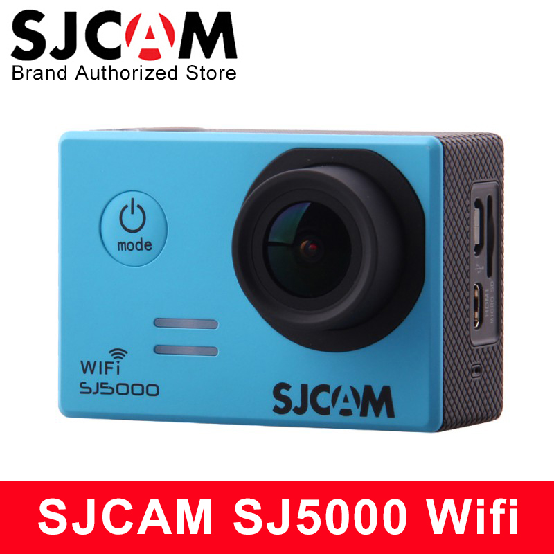 Original SJCAM SJ5000 WIFI Action Camera 1080P Full HD Sports DV 2 inch Screen 30m Waterproof SJ 5000 Cam Novatek 96655 Car DVR
