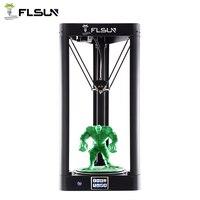 Flsun QQ Moldura De Metal Da Impressora 3d Tamanho Grande Auto nível de Pré montagem flsun Alta velocidade de Impressão malha Cama De Vidro da Tela de Toque Wifi|3d printer metal frame|3d printer3d printer metal -