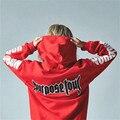 Justin Bieber Propósito Turnê Impressão Hoodie Dos Homens Hip hop Streetwear Fleece Algodão Bordado WORLD TOUR Especial Mulheres Moletom XXXL