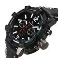 Top Marca De Lujo Para Hombre Relojes Casuales Diseñador de Silicona Reloj Del Deporte Militar Reloj de Los Hombres Reloj Masculino de Cuarzo-reloj montre homme