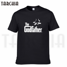 TARCHIA 2019 new brand the godfather t-shirt cotton tops tees men short sleeve boy casual homme