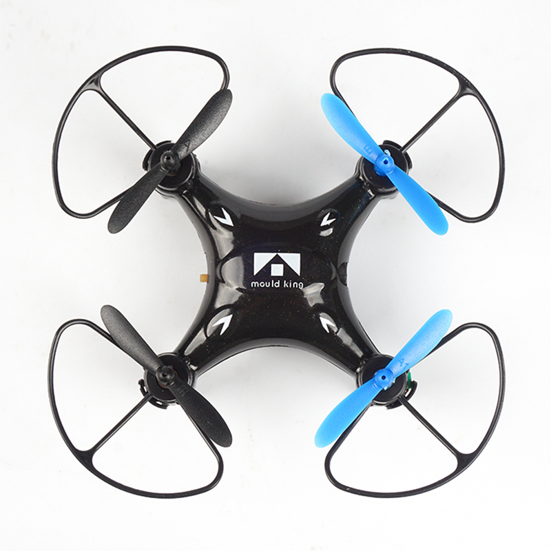 Mini Headless RC Helicopter 6-Axis Remote Control Quadcopter 2.4G Pocket drone one key ret