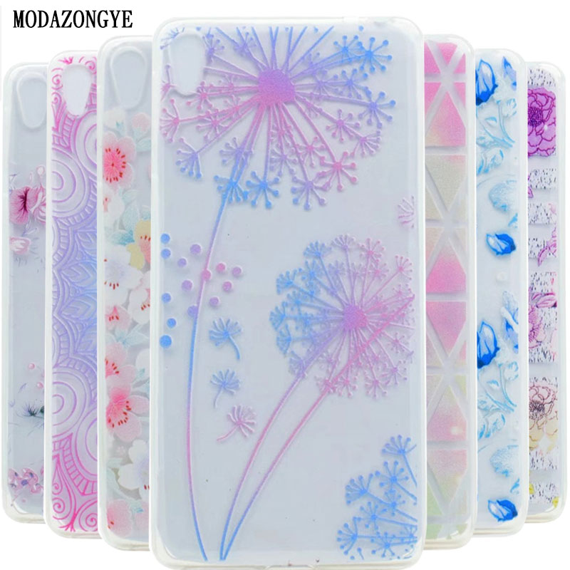 Sony Xperia E5 F3311 Case 5.0 inch Flower Soft TPU Phone F3313 Cover Silicone Back Bag - Shenzhen Colorful Technology Ltd. store