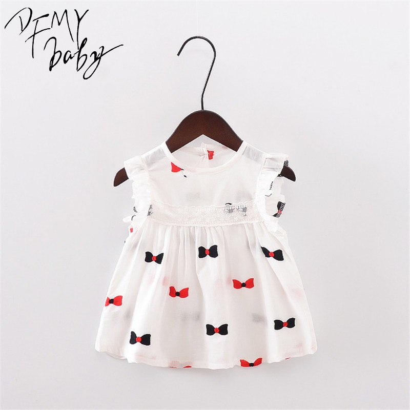 Summer New Girl Dress Butterfly Strawberry Flowers Pattern Baby Girl Dress Children Kids Sleeveless Cute Flower Dresses peter changilwa artisan and craft curriculum implementation in kenya