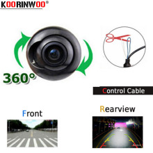 Koorinwoo CCD Multifunction 2 Transform Switch 360 Car Front camera