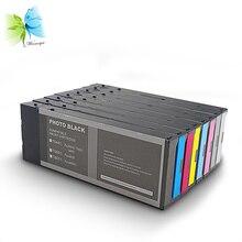 Winnerjet 7 color 220ml Compatible full pigment Ink Cartridge for Epson 7600 9600 printer
