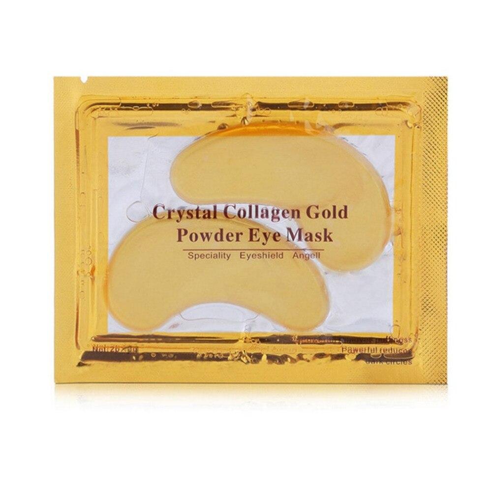 5 Pairs/Set Eye Mask Natural Gold Crystal Collagen Women Eye Care Eye Masks Moisturizing Anti-Wrinkle Remove Eye Patches new