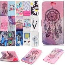 Caso carteira para HTC One HTC Caso A9 A9 Caso para coque coque capa de Couro PU Capa + Slot Para Cartão Wallet Case for HTC One A9 titular