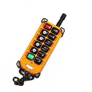 Image 4 - 12V 24V 36V 220V 380V رافعة لاسلكية عن بعد التحكم F23 A + + S جهاز تحكم صناعي مرفاع متنقل مفتاح بـزر دفع الأصفر