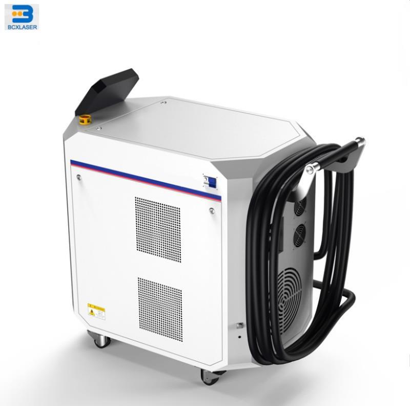 100 Вт металла лазерной машины для очистки Ржавчины/краски/окисления поверхности удаления
