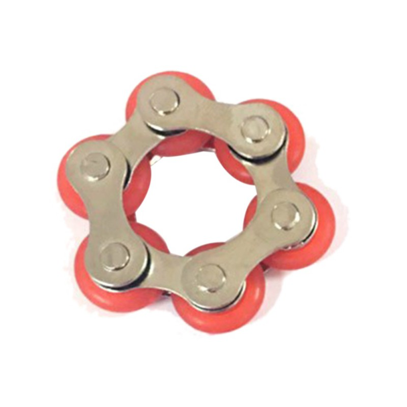 Key Ring Chain Fidget Toy - Great For Autism ADD, ADHD, Stress & Anxiety Chain Decompres ...