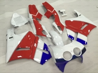 Fairing Kits VFR400R 1990 Fairing for Honda VFR400 1992 1988 1992 NC30 V4 Red White Blue Bodywork for Honda VFR400 1991