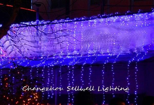 2018 Time limited Christmas Decoration New!christmas Lighting Wedding Celebration Decoration Yard 4*4m Led Lamp Curtain H198