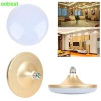 Oobest New UFO Led Bulb Lamp SMD5730 E27 36W LED Bulb Saucer Light Lamp Cool White