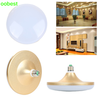 Oobest New UFO Led Bulb Lamp SMD5730 E27 36W LED Bulb Saucer Light Lamp Cool White