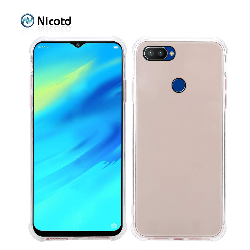 OPPO Realme 2 pro Case Cover OPPO Realme 2 ultra thin Clear Transparent TPU back case for OPPO Relame 1 C1 Full Cover Back cover (8)
