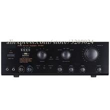 5 1 Channel Mini Microphone Mixer Amplifier AV High Power Radio U disk Karaoke Professional HIFI