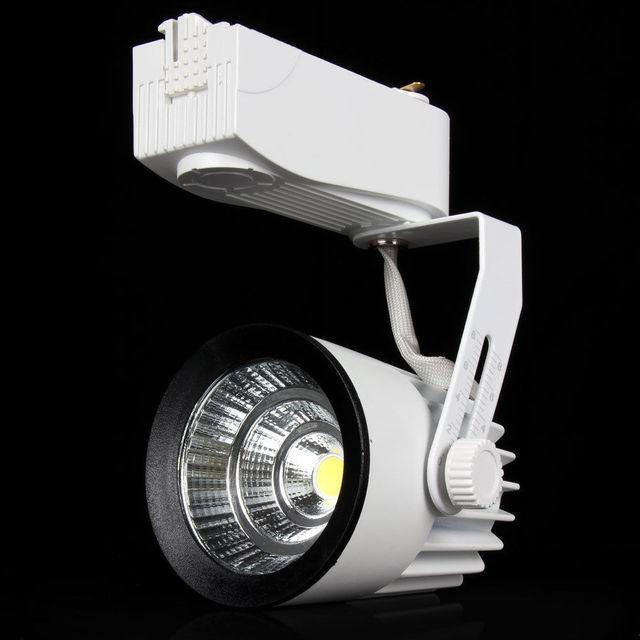 15W COB LED Ceiling Track Rail Light Spotlight Lamp Display Cabinet AC85-265V Warm/Cool White Shop Tracking Ceiling lamp