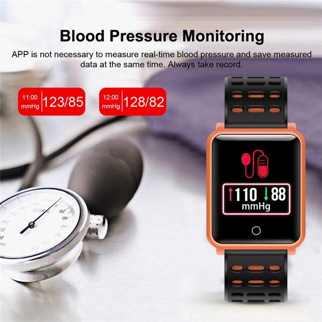 2018 new fitness smart watch N88 Bluetooth health heart rate monitor bracelet waterproof sports smart bracelet for men and women