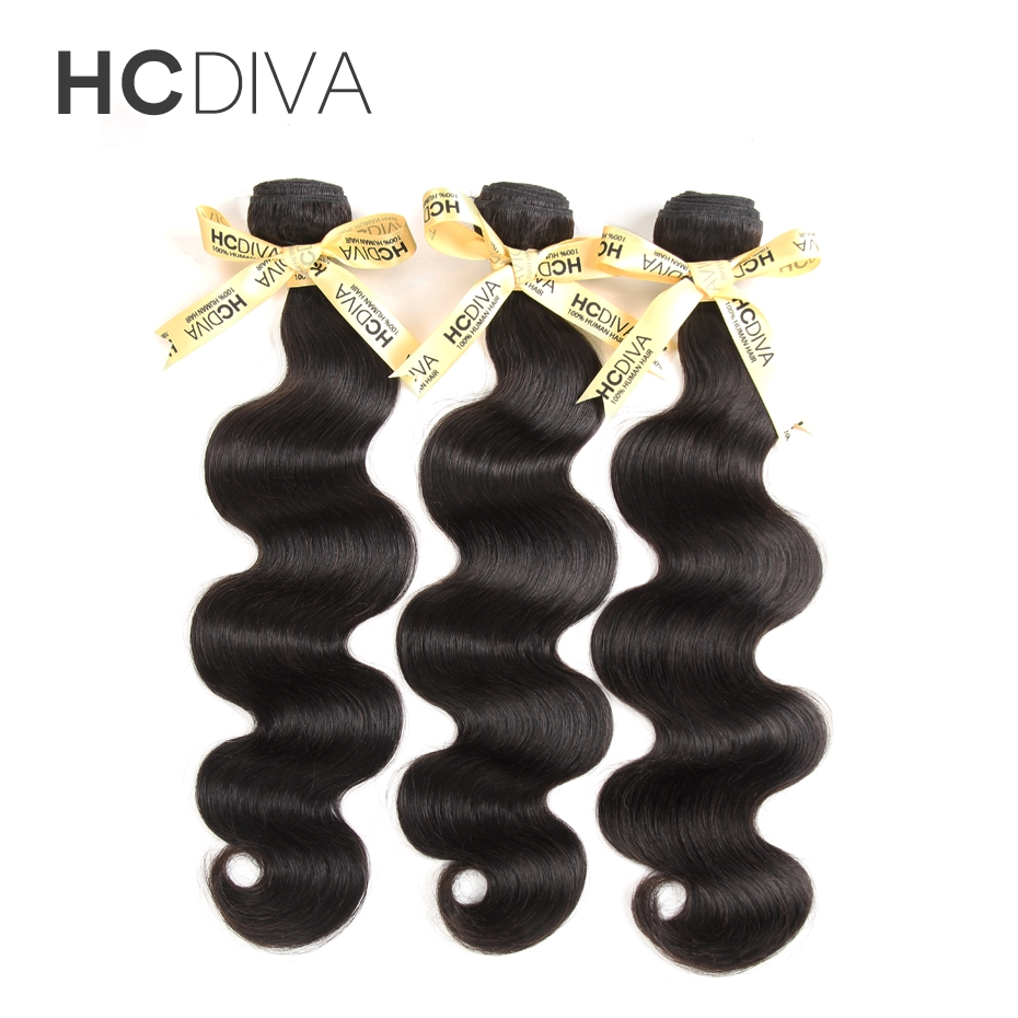 Brazilian Body Wave Hair Weave Bundles Natural Black Color 100 Human Hair weaving 3 Piece 8