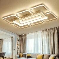 Brown White Modern Led Ceiling Lights Led Lampfor Bedroom Livingroom Ceiling Lamp Luminaria De Teto Home