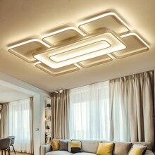 купить brown/white Modern led Ceiling Lights led lampfor Bedroom Livingroom Ceiling Lamp luminaria de teto Home Lighting plafonnier led дешево