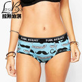 Hot sell New Cheap Best Quality Brand Cotton Ms Women's Briefs Short Lovers Underpant Transparent Fashion Sexy Ladies Underwears