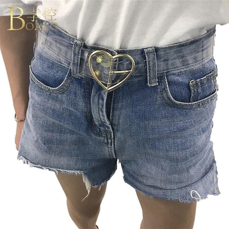 Waist   Belts   Women Resin Transparent Long   Belt   Girls Adjustable Waist Dress Band Transparent   Belt   For Ladies Heart Buckle   Belt   R4