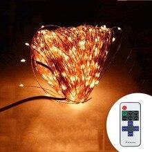 Здесь можно купить   Indoor Outdoor  Wireless Control 164Ft 50M 500 LED String Lights + Power Adapter Holiday Lighting