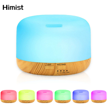 Essential Oil Diffuser 500ML Air Humidifier Aroma Lamp Aromatherapy Electric Ultrasonic Cool Mist Aroma Diffuser Mist Maker стоимость