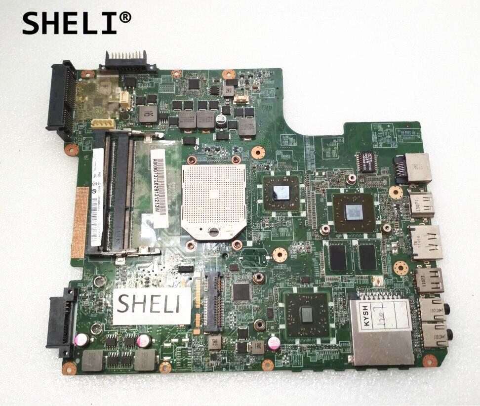 SHELI For TOSHIBA L600D L640D L645D Motherboard A000073720 DATE3DMB8D0SHELI For TOSHIBA L600D L640D L645D Motherboard A000073720 DATE3DMB8D0