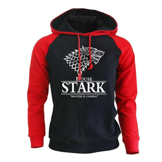 House Stark The Song of Ice and Fire Raglan Hoodies