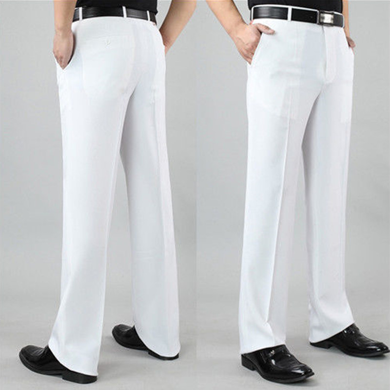 New Men's trousers white Arrival Custom Made Tuxedo Pant Men's Banquet Wedding Groom Dress Suit Pants Men Suits Pants