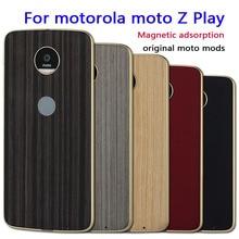 Для Motorola Moto Z Play Дело Магнитный Адсорбция dngn оригинальный Moto моды Бесплатная доставка