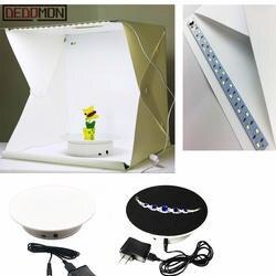 20 см 360 градусов Электрический вращающийся вращающаяся Платформа дисплей стенд для фотографии Максимальная нагрузка 1,5 кг видео стрельба