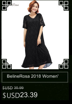 5035dc0a8b2 BelineRosa 2018 Women s Plus Size Lace Dresses Loose Style Pure Color Knee  Length Simple Black Dress Fit M ~ 2XL TYW00787-in Dresses from Women s  Clothing ...