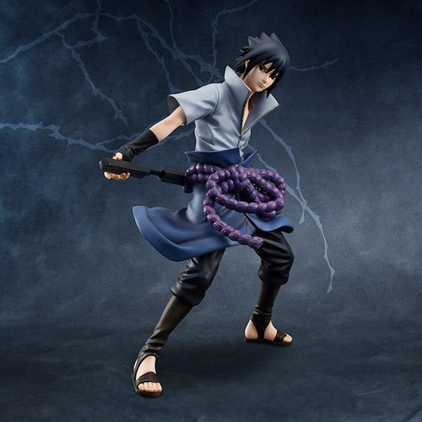 Anime Naruto Shippuden Uchiha Sasuke Action Figure Collectible Model Toy 8″ 20cm Sasuke Toys
