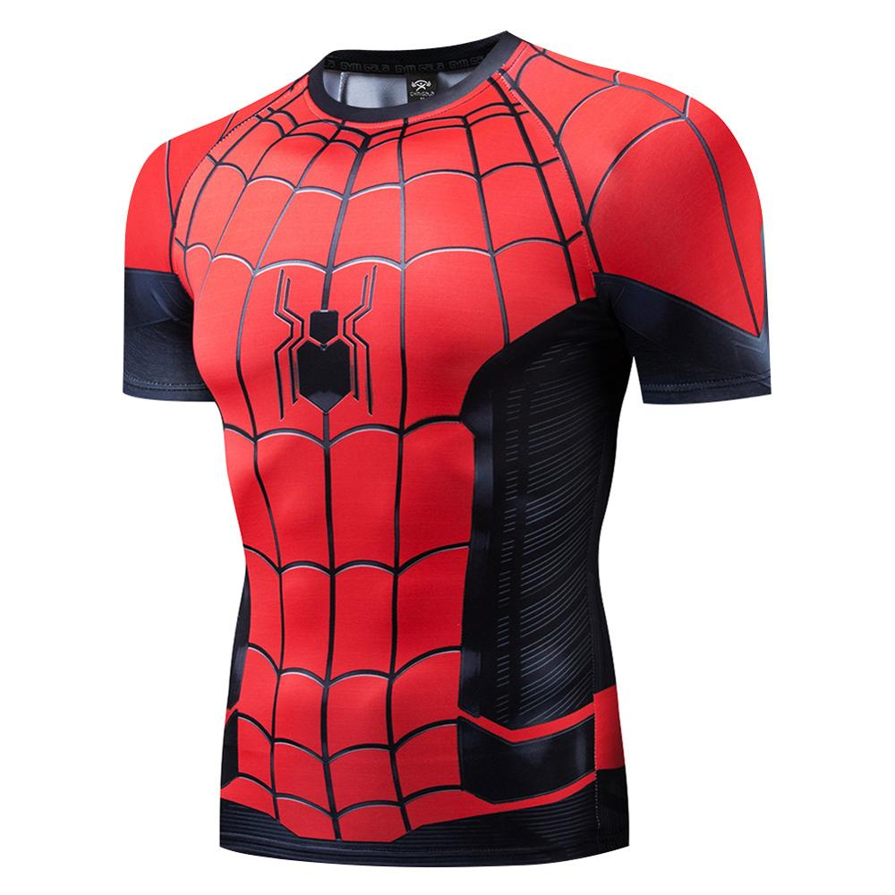 Spider-Man: Far From Home Summer T-shirt Shorts Men Quick Drying Casual Beach Shorts  Mens Boardshorts Elastic Waist