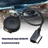Mayitr Music Interface AMI MMI MDI Inalámbrica Bluetooth 4.0 Adaptador de Audio USB para Audi A3 A4 A5 A6 Q5 Q7