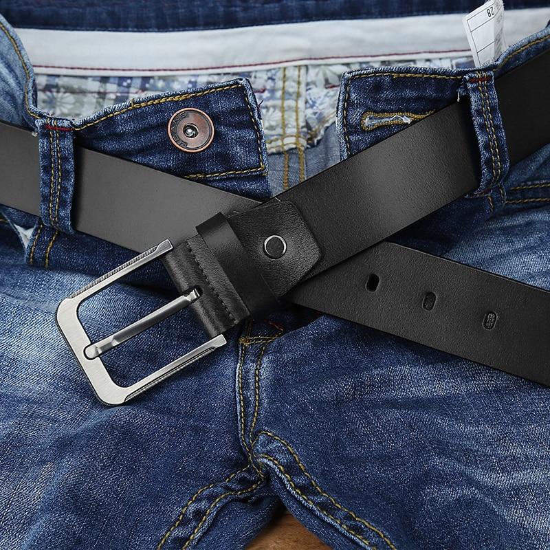 Apparel Accessories Catelles Strap Male Genuine Leather Belt For Men Belts 150cm Designer Black Belt High Quality Famous Luxury Brand Men Long Belts