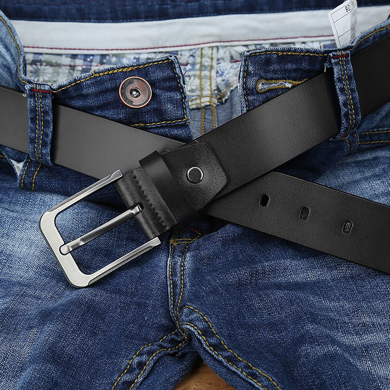 Catelles Strap Male Genuine Leather Belt For Men Belts 150cm Designer Black Belt High Quality Famous Luxury Brand Men Long Belts